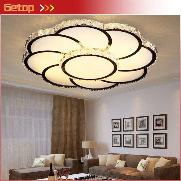 LED Deckenleuchten Runden Kristall Beleuchtung Schlafzimmer Warmen ...