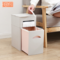 Nordic trash can, household toilet large drawer type garbage cabinet, classified carton, living room bedroom with paper ba