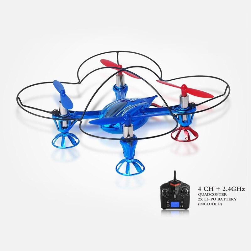 Оригинальные мини Радиоуправляемый Дрон НЛО headless режим дроны 6 оси гироскопа Квадрокоптер 2.4 ГГц Дрон один ключ возврата вертолет игрушечны...