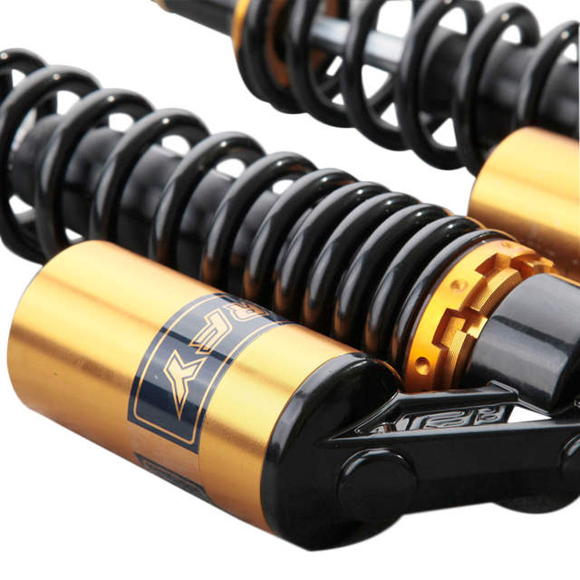 US $125 1 19% OFF|Universal 15 75'' 400mm Air Shocks Absorber Suspension  for Yamaha Honda /Kawasaki /Suzuki /Quad/ ATV /Scooters /Moped Quad-in