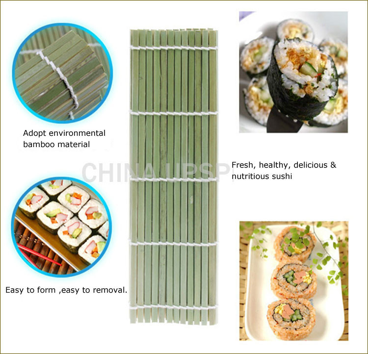 Japanese Sushi Riz Rolling Roller Fresh Bamboo À faire soi-même Maker Sushi Tapis Cuisson Outil