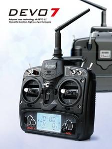 Image 3 - Walkera v450d03 6 eixos giroscópio flybarless 3d rc helicóptero com devo 7 transmissor rtf 2.4 ghz