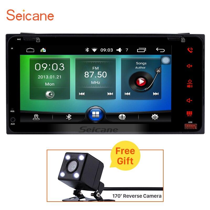 Seicane 2 Din 7 font b Car b font Radio Android 6 0 font b GPS