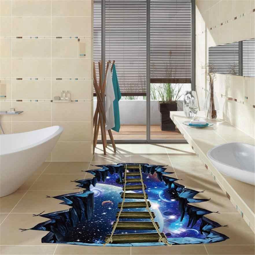 Настенные Стикеры для гостиной, спальни, модные 3D звезды серии, пол, настенные Стикеры, съемные настенные наклейки, винил, искусство, новый Apr13