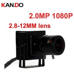 2.0MP 1080 kamera IP 2.8-12mm soczewka wieloogniskowa H.264 P2P Mini przewodowy/a wielu kolor kamery internetowe  kamery bezpieczeństwa Cctv kamery internetowe