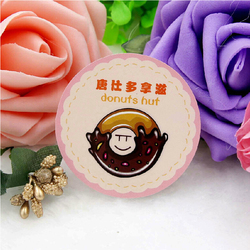 newest manufacture OEM custom toy label, differernt cartoon shape toy sticker