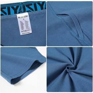 Image 5 - KAYIZU 3 Stuks Mannen Underwears Solid Katoen Boxers Plus Size Mannen Ondergoed Comfortabele Boxershorts Mannelijke Slipje Onderbroek