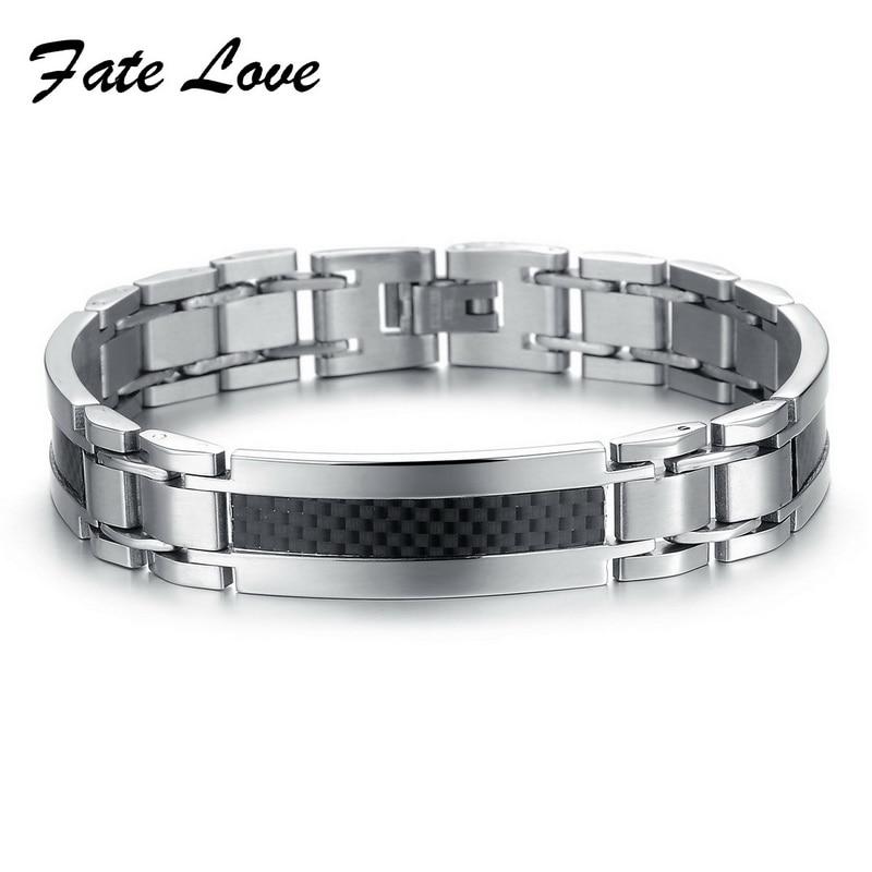 Fate Love Punk Men Jewelry...