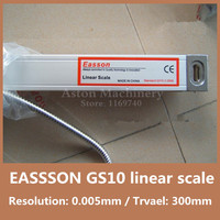 High Precision linear scale EASSON GS10 5micron dro linear scale TTL 5V 300mm linear digital scale for CNC lathe milling machine