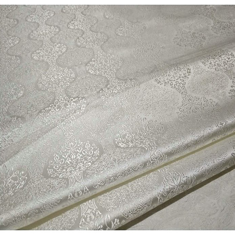 Arts,crafts & Sewing Home & Garden 75x100cm Imported Janpanese Style White Metallic Jacquard Brocade Fabric,3d Jacquard Yarn Dyed Fabric For Coat Dress Upholstery Exquisite Craftsmanship;