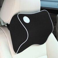 Atmungsaktive Autos Sitz Unterstützung Auto Kopfstütze Nacken Kissen Memory Schwamm Auto Zubehör für volkswagen golf 4 6 7 Audi a4 b6|Nackenkissen|Kraftfahrzeuge und Motorräder -