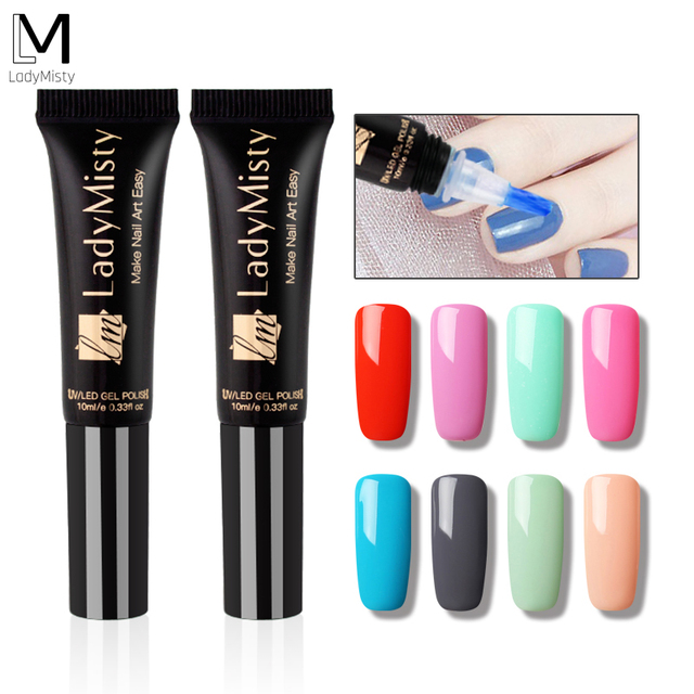 Ladymisty Gel New Design 8ml LM31-58 Solid Color Nail Polish Soak Off Nail  Gel - Ladymisty Gel New Design 8ml LM31 58 Solid Color Nail Polish Soak
