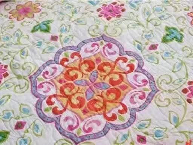 Country threads good news applique quilt wall hanging pattern