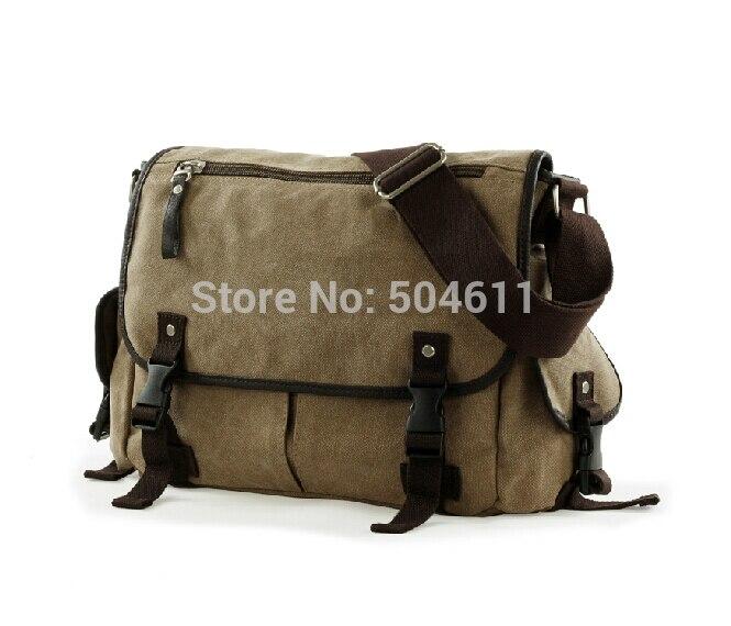 EBOYU nouveau Vintage coton sac décontracté tendance hommes appareil photo Dslr sac à bandoulière Messenger sac