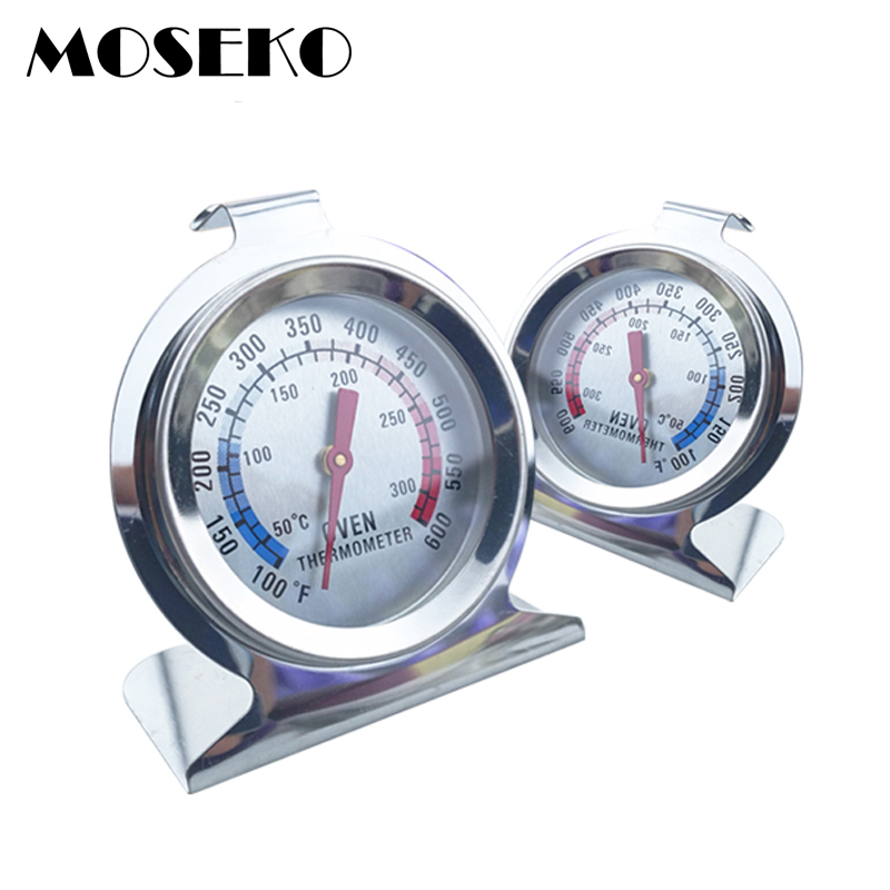 MOSEKO Voedsel Vlees Temperatuur Stand Up Wijzerplaat Fornuis Thermometer Voor Keuken Koken Oven Temperatuurmeter Drop verzending groothandel