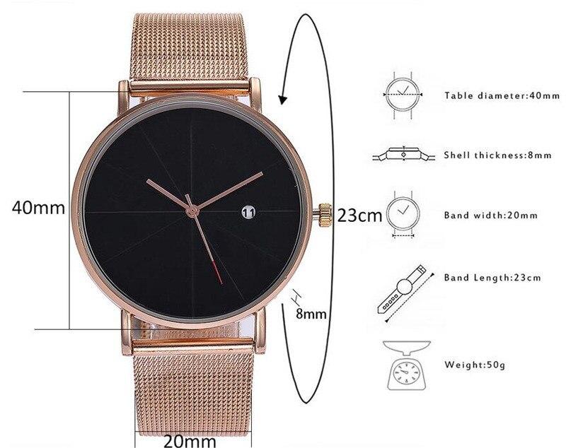 Man Watch 2019 Luxury Gold Men Watches Ultra thin Mens Watches Stainless Steel Mesh Belt Quartz Wristwatches horloge mannen