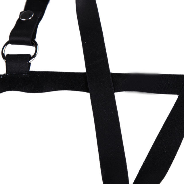 2018 Hot Sexy Gay Mens Shape Body Chest Harness Costume Body Suit for Men's Middle Strap Lingerie Clothing