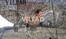 Купить с кэшбэком Loogu 4Mx6M (13FTx19.5FT) Desert Digital Camo Netting Military Army Camouflage Net Shelter for Hunting Camping Car Covers Tent