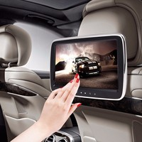 9 HD Car Headrest Monitor DVD Video Player USB/SD/HDMI/IR/FM TFT LCD Digital Screen Touch Button Game Remote Control