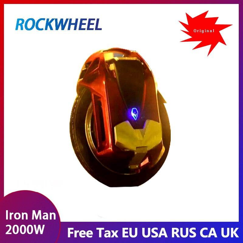 2019 nouveau ROCKWHEEL GT16 vitesse de monocycle électrique max 45 km/h +, 84 V, 16 pouces, batterie au lithium, 858WH/1036WH, durée de vie 60-80 km