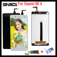 Sinbeda 100 Tested For Xiaomi MI 4 Screen LCD Display Touch Sreen Panel Digitizer Replacement Assembly