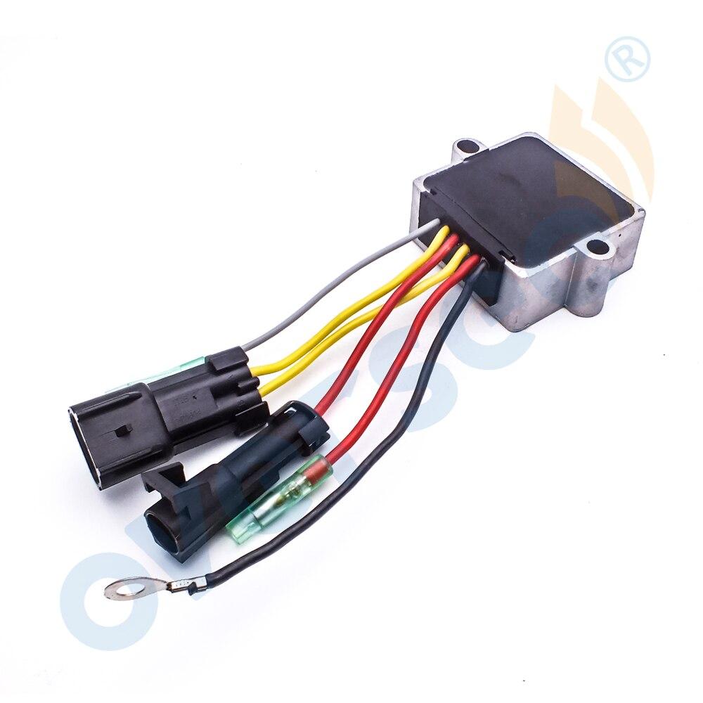 Контролировать регулятор напряжения для 4-тактный подвесной Двигатель Меркури 854515T2 883071T1 893640T01 194-2115K1 (C117)