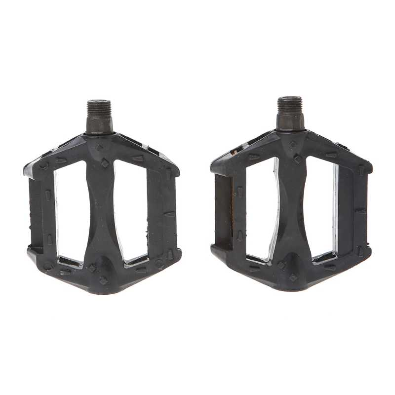 Universal Bicycle Pedals Reflective Plastic Cycling Anti Slip Mountain Bike Road