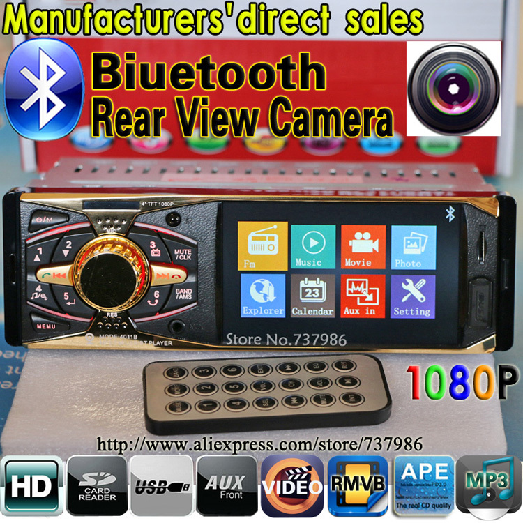 Fabricantes de ventas directas jugador del coche MP5 4.0 HD Bluetooth / vista tr