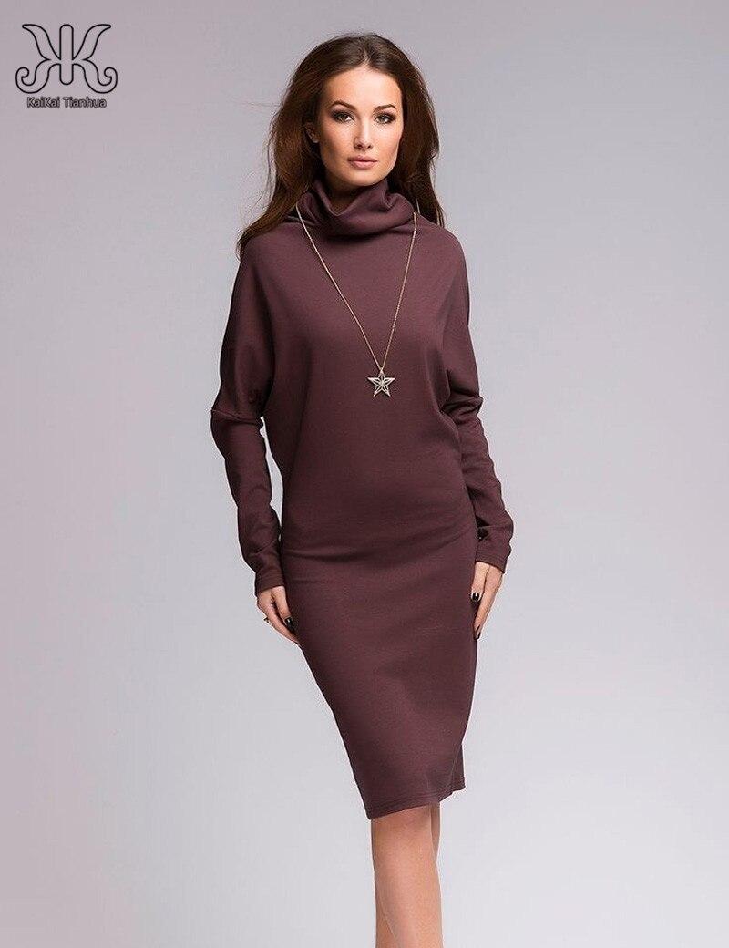 Aliexpress.com : Buy 2017 Fashion Women Autumn Dresses Long sleeve ...