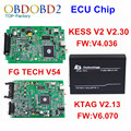 V2.13 V6.070 Mestre Versão Ktag K TAG ECU Tuning Chip Ferramenta + KESS V2 V2.30 V4.036 V54 FGTECH Galletto 4 FG TECNOLOGIA-Tag K DHL livre