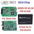 V6.070 V2.13 Maestro Versión Ktag K TAG ECU Chip Tuning Tool + KESS V2 V2.30 V4.036 FGTECH V54 FG TECNOLOGÍA Galletto 4 K-tag DHL envío