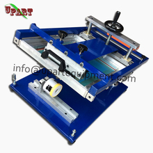 silicone bracelet screen printing machine for single color and small business