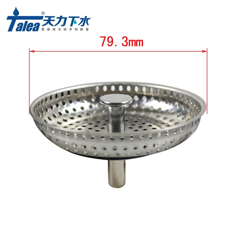 Talea SUS304 sink strainer plug Kitchen Sink Strainer Waste Plug ...