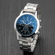Relógio de pulso analógico montre homme relógio de pulso analógico da hora do esporte dos homens relógios de aço inoxidável da marca de luxo da moda