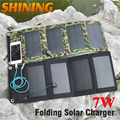 Monocrystalline 7W 5V Solar Panel High Efficiency Waterproof Solar Cells Foldable Portable Solar Charger for Smartphones