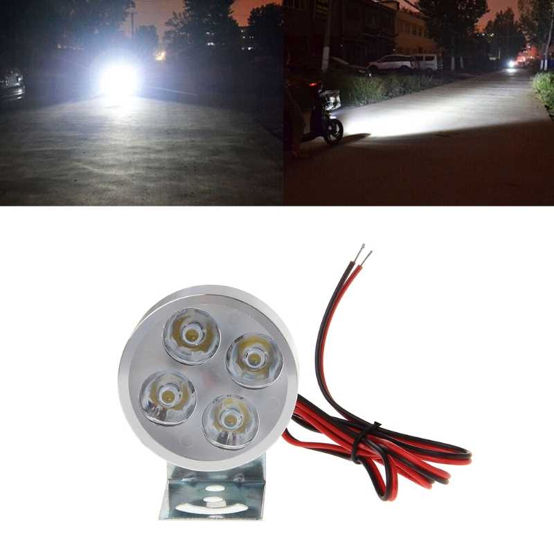 New High Quality DC 12-85V 15W High Bright LED Spot Light Headlight Lamp Bulb for Electric Car Motorcycle Motor Bike