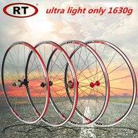 RT 17 Newest Road Bike Ultra Light Sealed Bearing 700C Wheels Wheelset Only 1630g