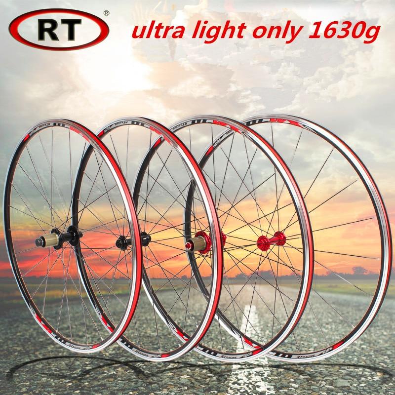 RT 17 newest road bike ultra light sealed bearing 700C wheels wheelset only 1630g Rim Rims термометр maman rt 17 цыпленок вода воздух