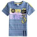Roupas infantis menino meninos roupas tudo para as crianças roupas e acessórios meninos de verão t-shirts com letras impressas C5893