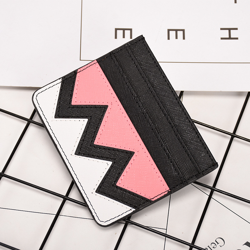 Fashion Little Monster Card Holder Case Pouch Business Travel Card Wallets For ID Credit Card Cardholder Bag