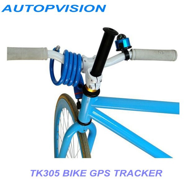 Bicycle gps tracker GPS/GSM/GPRS Quad Band 305 Mini Tracker TK305 smart tracker  no original box