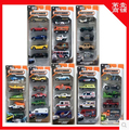 MATCHBOX 1:64 Alloy car kit City of Heroes trolley 5pcs/Set car toy Christmas gift Construction vehicles Ambulance Sports car
