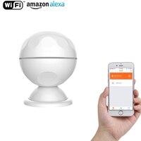 NEO Smart PIR датчик движения Wi-Fi поддержка Amazon Alexa, Goole Assistant, iftt, не дорогой концентратор, необходимый для автоматизации умного дома