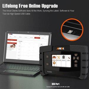 Image 5 - Ancel FX4000 professionnel OBD 2 Scanner automobile ABS EPB Service dhuile réinitialiser les systèmes complets OBD2 voiture outil de Diagnostic Scanner automatique