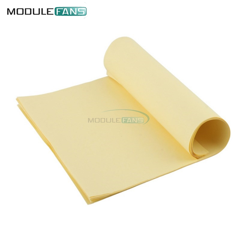 50pcs A4 Toner Heat Transfer Paper For Diy Pcb Electronic Prototype Mark Active Components