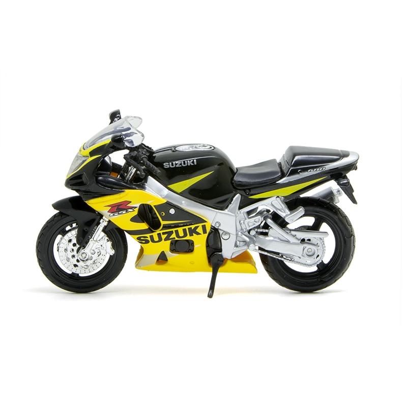 Maisto 1:12 modelo suzuki gsx-r600 motocicleta regalo en miniatura