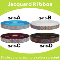 7 8 22mm Design Ethnic Embroidery Apparel Jacquard Ribbon Handmade Accessories National Style 10 Yards 40