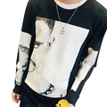 2017 New Arrival Autumn Men Comfortable Sweatshirts Fashion Face Pattern Printing Men Hoodies Plus size M ~5 XL