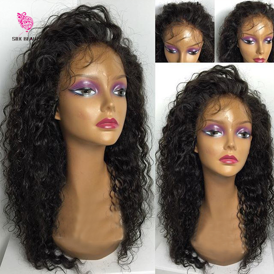 7A Glueless Full Lace Wigs Virgin Cambodian Water Wave