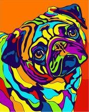 Bulldog öl Malerei Kaufen Billigbulldog öl Malerei Partien Aus China